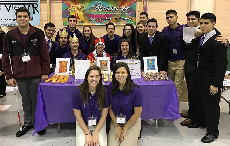 Clarke HS VE Students Compete at Regional Trade Show