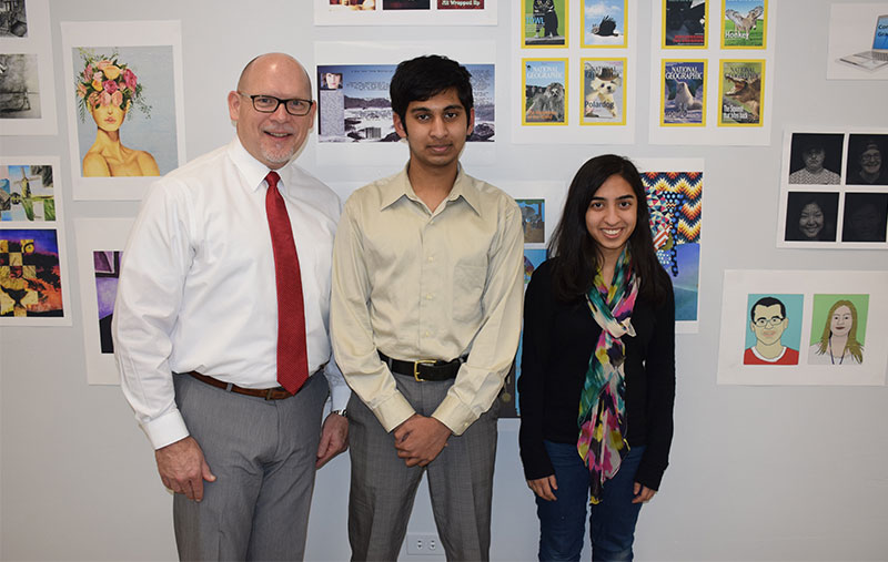 Two W.T. Clarke High School Seniors Named National Merit Finalists photo