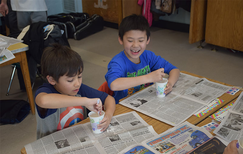 Creating Oobleck photo
