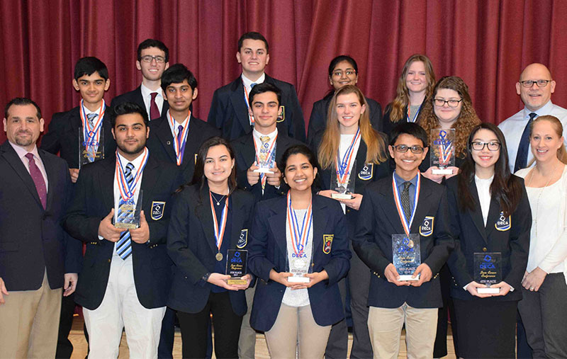 Clarke HS DECA team advances to international conference Photo