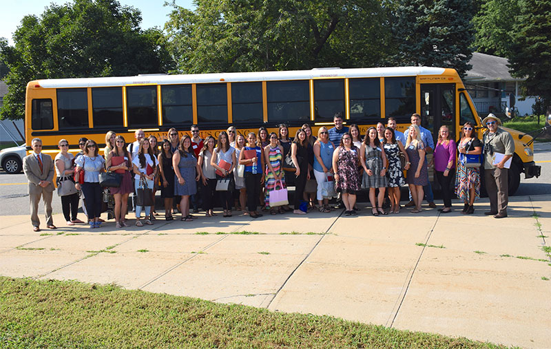 New Teachers Welcomed into East Meadow photo
