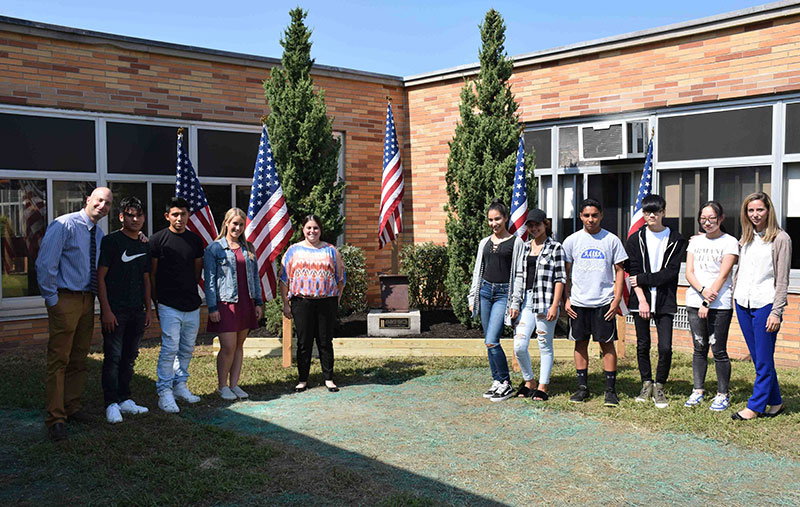 East Meadow High School Students Commemorate 9/11 photo