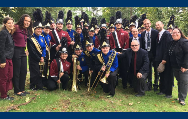 Rhythm Leads to Success for Marching Bands at NYC Parade photo
