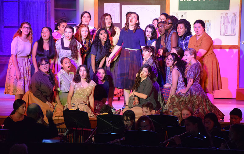 East Meadow High School Presents The Pajama Game photo