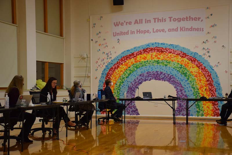 Board Recognizes Terrific Kids, Unity Day Mural