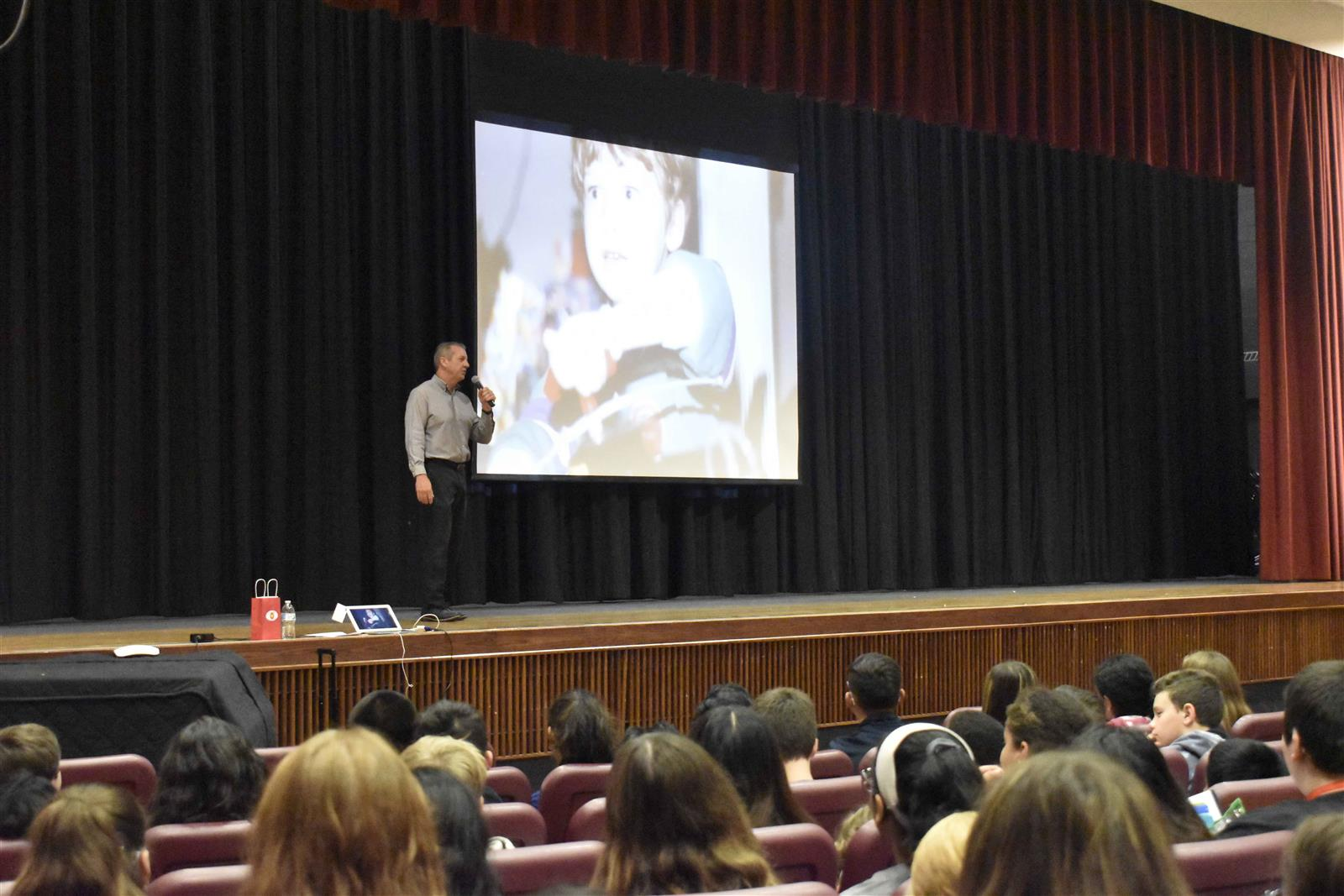 Woodland Students Learn Powerful Message