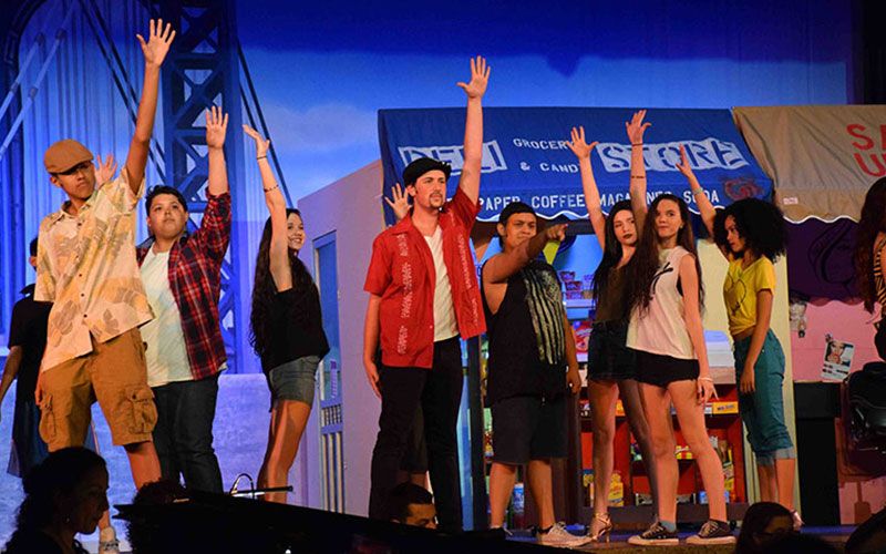 W.T. Clarke HS Presents 'In the Heights' Photo