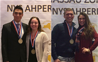 East Meadow Seniors Receive Zone Awards photo