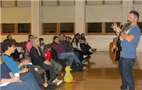 Singer Jared Campbell Inspires East Meadow School Community