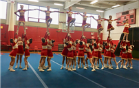 Terrific Season For Woodland Middle School Cheerleaders photo