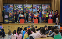 Bowling Green Students Use Their Noggins On 'The Brain Show' photo