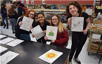 W.T. Clarke Artists Create Coloring Books For NUMC photo