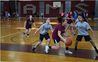 March Madness Strikes W.T. Clarke Middle School photo