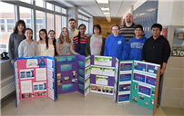 Woodland Earns Top Honors at LISEF photo