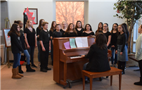 W.T. Clarke Middle School Celebrates Music In Our School's Month photo