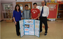 Woodland MS Students Place Third at NCC Science Fair Photo thumbnail75772