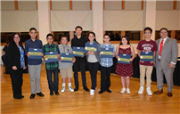 Board of Education Honors 'Terrific Kids' Photo