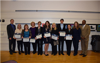 Board of Education Honors PTA and Students photo
