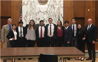 Clarke HS Mock Trial Team Places First in County Tournament Photo