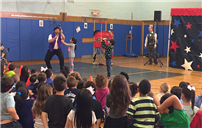 Bowling Green Elementary Shows Off Circus Skills photo