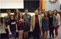 Holocaust Survivor Holds Assembly at East Meadow High School photo  thumbnail95870