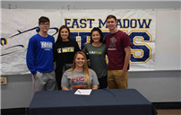 East Meadow Seniors Sign NLIs photo