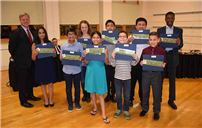 Students, Veteran, Board Members Honored in East Meadow Photo
