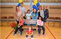Meadowbrook Unveils Buddy Bench Photo