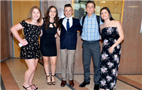 W.T. Clarke Celebrates Eighth Grade Honors photo