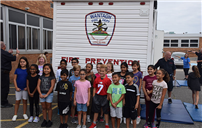 Parkway Takes Lessons on Fire Safety and Prevention photo