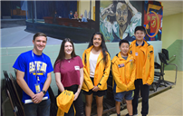 East Meadow High School Welcomes Australian Visitors photo thumbnail101603