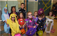 East Meadow High School Hosts Safe Halloween photo