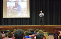 Woodland Middle School Hosts Ryan's Story photo