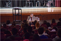 Holocaust Survivor Holds Assembly at East Meadow High School photo 2