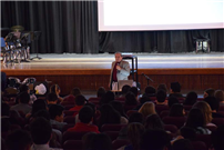 Holocaust Survivor Holds Assembly at East Meadow High School photo 3