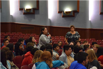 Holocaust Survivor Holds Assembly at East Meadow High School photo 3 thumbnail95873