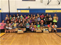 East Meadow HS Students Host Fundraisers For Hurricane Harvey Victims photo 2
