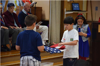 Barnum Woods Fourth-Graders Honor Veterans photo 3