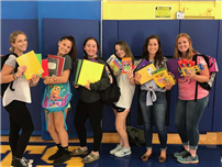 East Meadow HS Students Host Fundraisers For Hurricane Harvey Victims photo 3