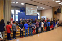 Barnum Woods Fourth-Graders Honor Veterans photo 4